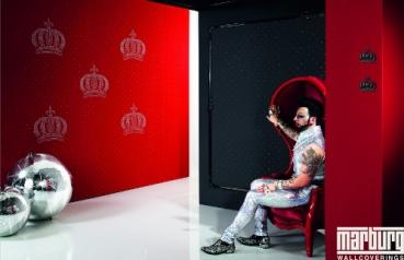marburg tapete harald gl ckler nr 52716 strass krone. Black Bedroom Furniture Sets. Home Design Ideas