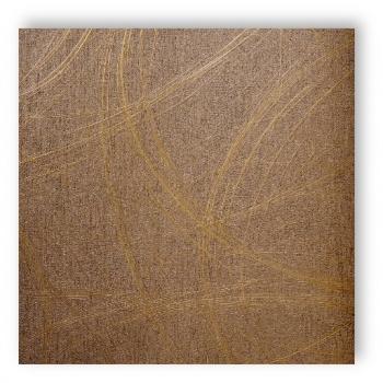 Marburg tapete luigi colani visions 53323 braun gold for Tapete braun gold