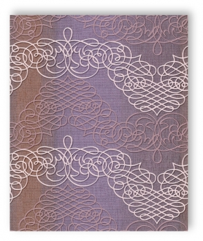 rasch tapete new wave 2015 453638 ornament lila flieder. Black Bedroom Furniture Sets. Home Design Ideas