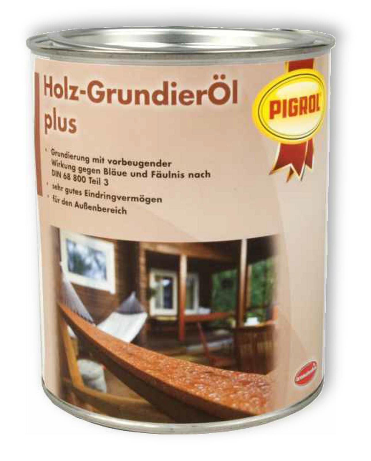 pigrol holz grundier l plus 750ml farben. Black Bedroom Furniture Sets. Home Design Ideas