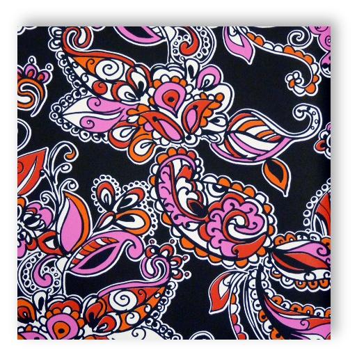 Rasch Kindertapeten Vlies : Rasch Textil Love Vlies Tapete Nr. 136842 Paisley schwarz/rot – farben