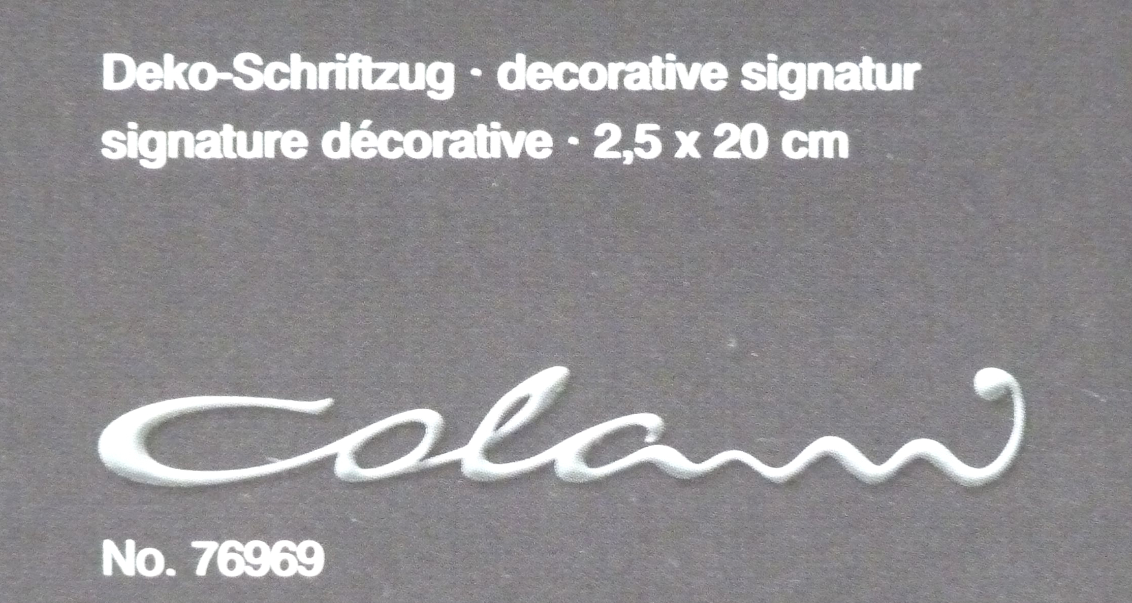 marburg tapete luigi colani visions 76969 schriftzug chrom. Black Bedroom Furniture Sets. Home Design Ideas