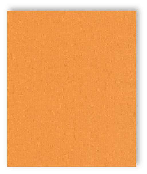 Rasch tapete funky flair 2015 721966 uni einfarbig orange for Tapete orange