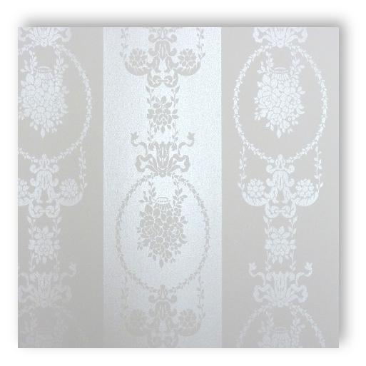 Textil Tapeten Verarbeiten : Rasch Textil Love Vlies Tapete Nr. 136846 Streifen Barock satin creme