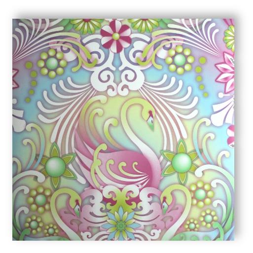 Textil Tapete Verarbeiten : Startseite ? Rasch Textil Catalina Estrada Tapete 323008 Cisne Cielo